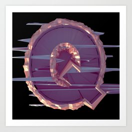 Letter Series: Q Art Print