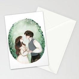 Little Women Illustration  Stationery Cards