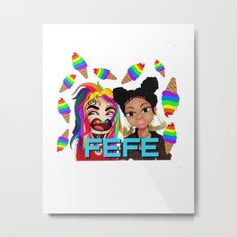 FEFE 69 Metal Print