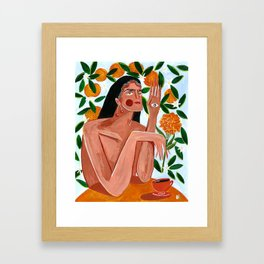Law of attraction Framed Art Print