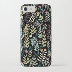 Dark Botanic Slim Case iPhone 7