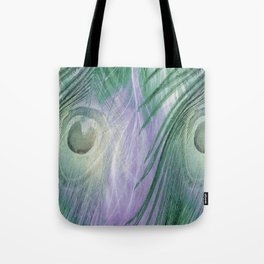 Nature's Feathers Tote Bag