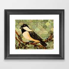 Winged Messenger Framed Art Print