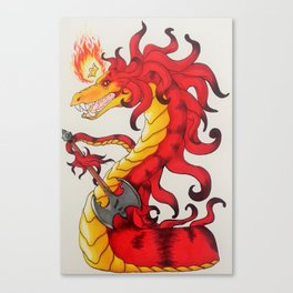FireWyrm Canvas Print