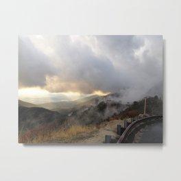 Outside Twin Peaks 5 Metal Print