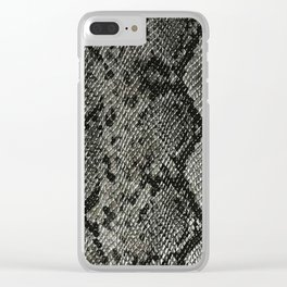 Classic Rattlesnake Clear iPhone Case