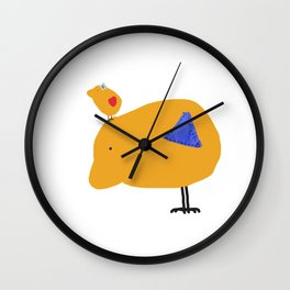 Sunny Family Father and girl Wall Clock