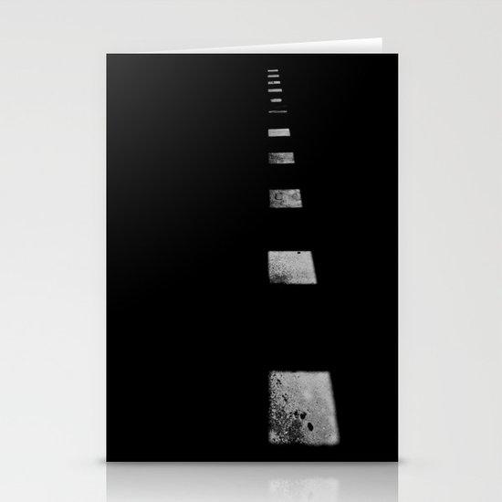 Minimalist Shadows Stationery Cards