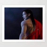 "akira Art Prints featuring Akira by Barbara ""Yuhime"" Wyrowińska"