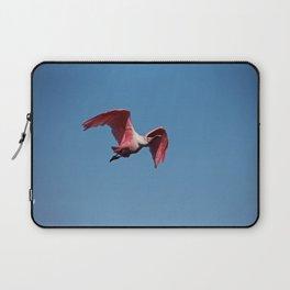 Roseate Spoonbill in Flight II Laptop Sleeve