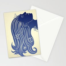 Let your hair down... Stationery Cards
