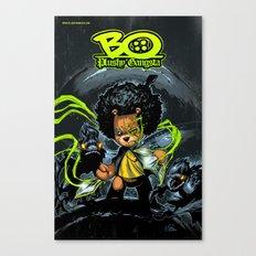 Bo Plushy Gangsta issue #3 cover poster regular Canvas Print