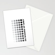 50 shades of grey Stationery Cards