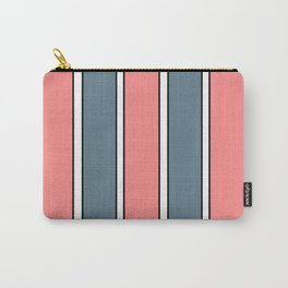 Striped Wallpaper Carry-All Pouch