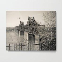 Welcome to Vicksburg 3 Metal Print