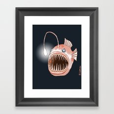 Anglerfish Framed Art Print