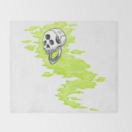 Lv. 24 Skeletal Wisp Throw Blanket