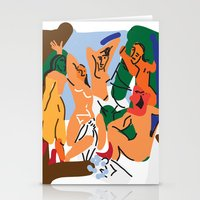 picasso Stationery Cards featuring Picasso by John Sailor
