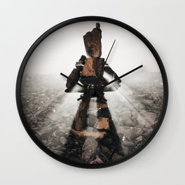 The Right Path Wall Clock
