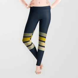 Racing Retro Stripes Leggings