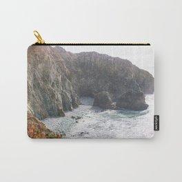 Seafoam Cliffs Carry-All Pouch