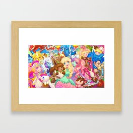Dollightful Banner Art 2018 Framed Art Print