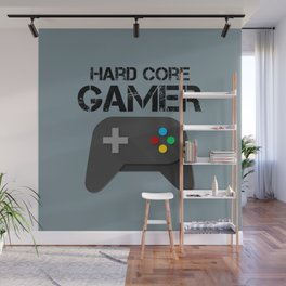 Game Console Black Joystick Wall Mural