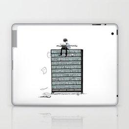 LITTLE DREAMS, BIG BOOKCASE Laptop & iPad Skin