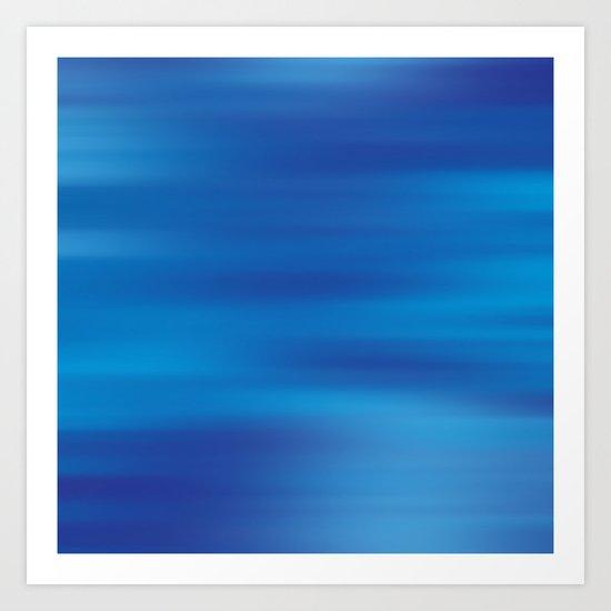 True Blue  Art Print