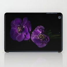 Two Purple Anemones iPad Case