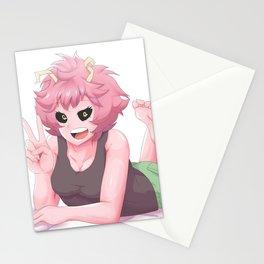 My Hero Academia Mina Ashido Stationery Cards