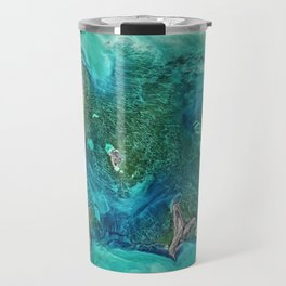 Ice Scours the North Caspian Sea Travel Mug