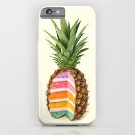 PINEAPPLE CAKE iPhone Case