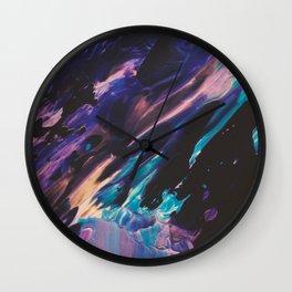 Coral Reef Lagune Wall Clock