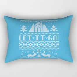 Let It Go Sweater Rectangular Pillow