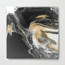 Black Obsession Metal Print