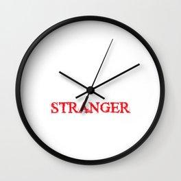 """Unique Meme Saying """"Trust Me I'm A Stranger"""" T-shirt Design Faith Trusting An Unfamiliar Person Wall Clock"""