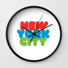 New York City Style Wall Clock