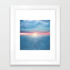 Pastel vibes 32 Framed Art Print