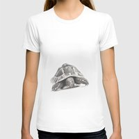 tortoise T-shirts featuring Tortoise by Vicky Lewis