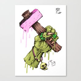 Pretty Hammer Canvas Print