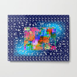 Galaxy creative work Metal Print