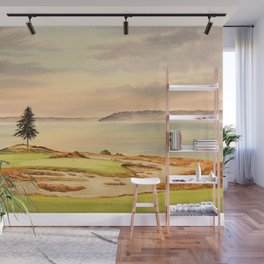 Chambers Bay Golf Course 15th Hole Wall Mural