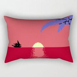 Voyage at the Cantaloupe Seas Rectangular Pillow