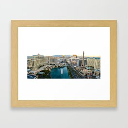 Las Vegas Strip 2 Framed Art Print