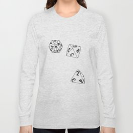 Dungeons and Dragons Dice Long Sleeve T-shirt