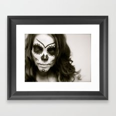 Fell In Love With A Zombie Framed Art Print