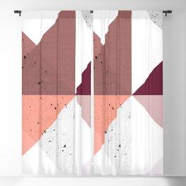 Modern Geometric 19/3 Blackout Curtain