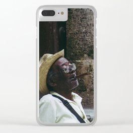 Vieja habana Clear iPhone Case