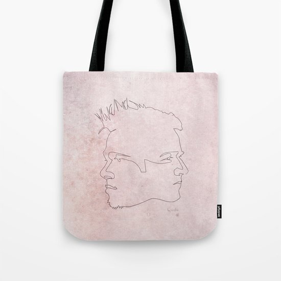 One line Fight Club Tote Bag